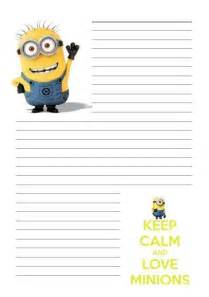 Home Design Hashtags Details About Minion Despicable Me Letter Writing Paper
