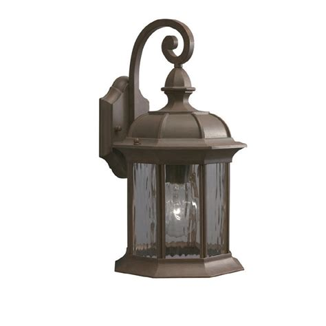 Allen Roth Lighting Fixtures Allen Roth Bellwood 16 3 8 In Bronze Outdoor Wall Mounted Light Lowe S Canada