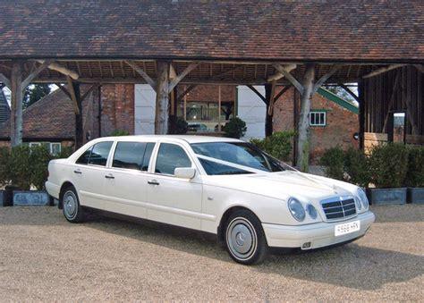 modern wedding cars east mercedes limousine white wedding car gallery kent