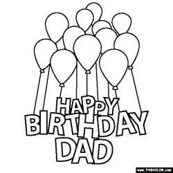 happy birthday papa free coloring pages art coloring pages