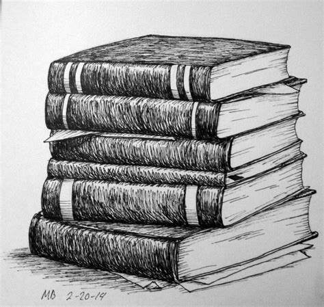 8 Drawing Book by Stack Of Books Pencil Drawing Search Still
