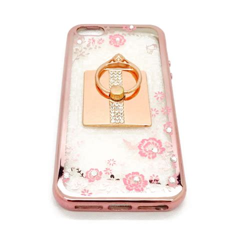 Casing Bunga Soft Flowers List Plus Ring For Vivo Y51 soft shining flower i phone 5 pink plus ring pusaka dunia
