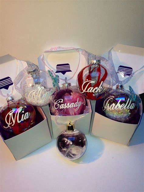 diy decorations baubles the 25 best personalised baubles ideas on