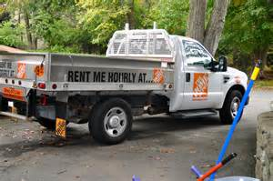 home depot rental trucks home depot truck rental rates