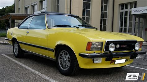 opel commodore b opel bern commodore b gs e 1976