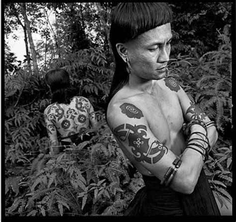 dayak tattoo history looking at the world s tattoos arts culture smithsonian