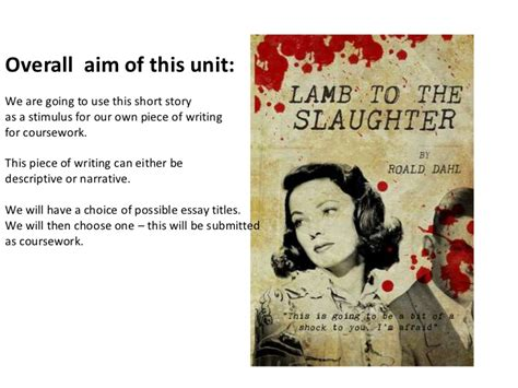 themes in the story lamb to the slaughter lamb to the slaughter