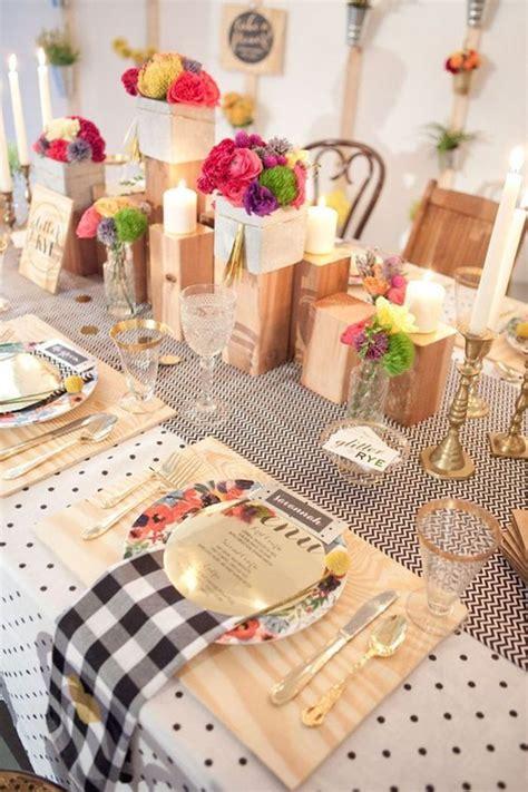 decorations de table d 233 coration de table de mariage originale les d 233 corations