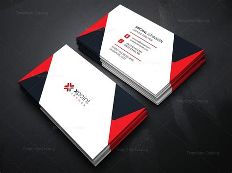 corporate business cards templates minimal corporate business card template 000160 template