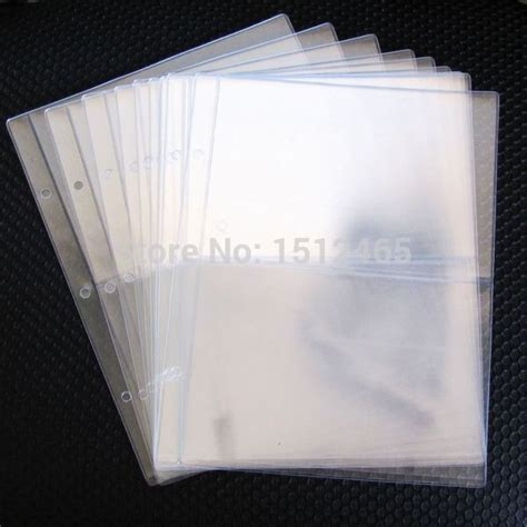 shippingpcslot  pockets clear currency paper