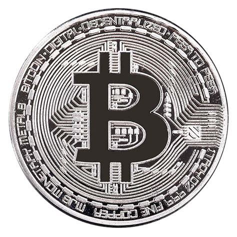 bitcoin silver 999 fine gold plated bitcoin collectible physical coin