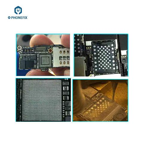 phonefix iphone    motherboard chip ic grinding