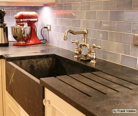 Soapstone Vs Granite Soapstone Counters Soapstone And Farmhouse Sinks On