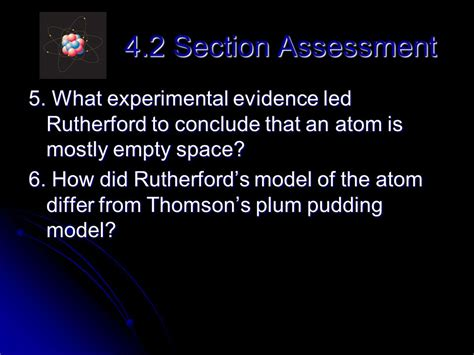 section 4 2 the structure of an atom section 4 2 the structure of an atom 28 images chapter