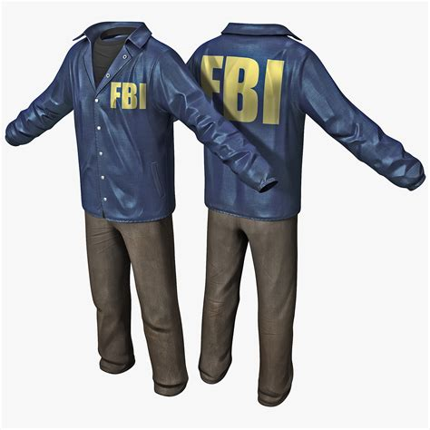 Sweater Fbi Noval Clothing fbi clothes 2 3d c4d