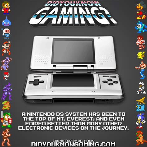 Ds Memes - did you know gaming nintendo ds