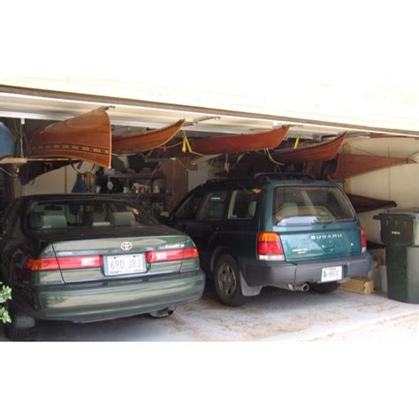 Garage Storage Kayak by 17 Best Images About Kayak And Canoe Storage On