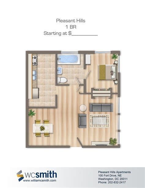 washington dc 1 bedroom apartments pleasant hills bedroom floor plans washington dc and apartments