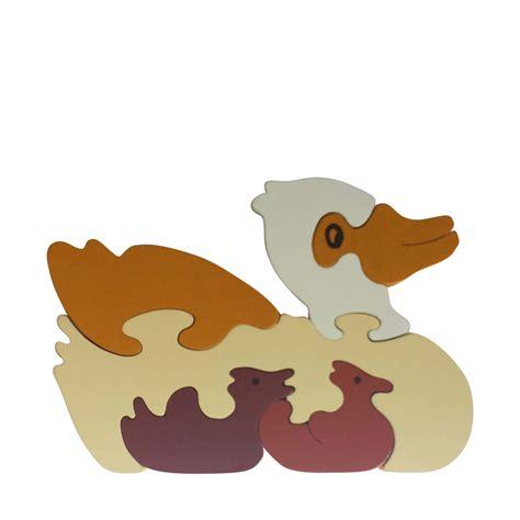 Puzzle Animal duck wooden animal puzzle jigzoos australia jigzoos