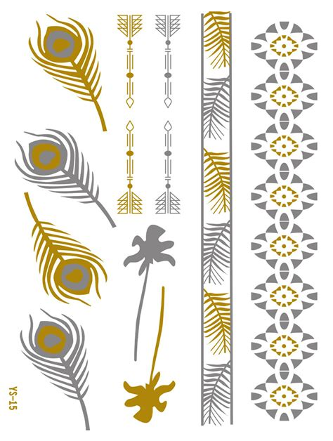 temporary tattoo stickers arm arrow for men and women body