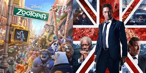 box office 2016 deadpool zootopia and london has fallen take out deadpool for