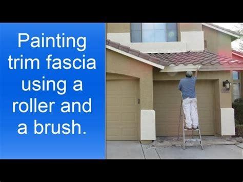 fascia house how to paint exterior house trim fascia youtube