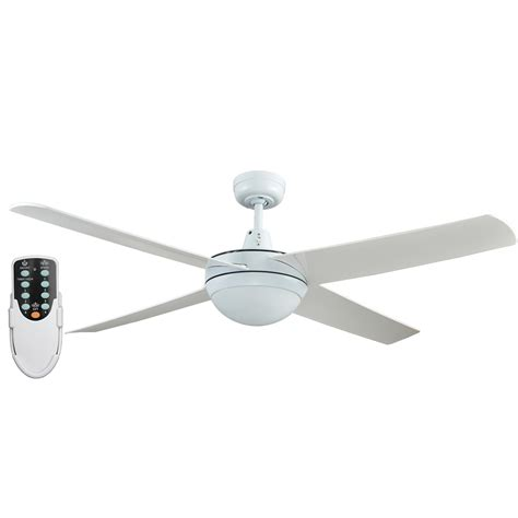 led ceiling fan with remote rotor 52 inch led ceiling fan with abs blades in white