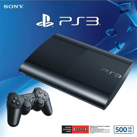 ps3 slim 500 gb a ps3 slim 500go pack 3 jeux cod mw achat vente