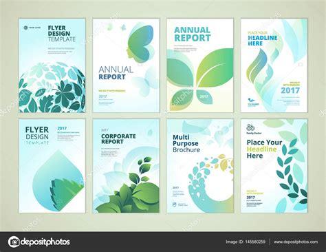 nature brochure template or flyer design stock nature and healthcare brochure cover design and flyer