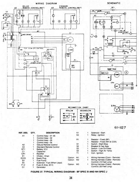 6 5 onan generator wiring diagram wiring diagram and