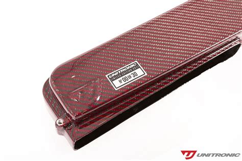Limited Edition Fiber and blue limited edition carbon fiber intake systems