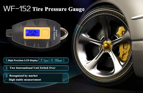 Tire Pressure Alat Pengukur Tekanan Angin digital lcd tire pressure monitor tg101 black lazada indonesia