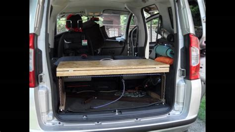 fiat qubo camping youtube