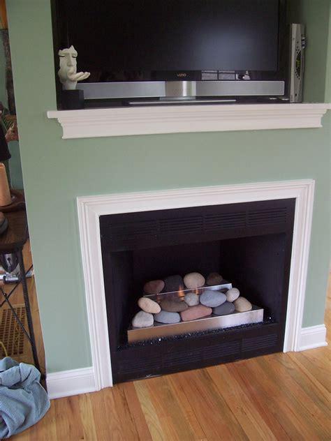 modern fireplace makeover