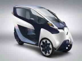 Toyota Electric Car Future Toyota I Road Concept Car Design