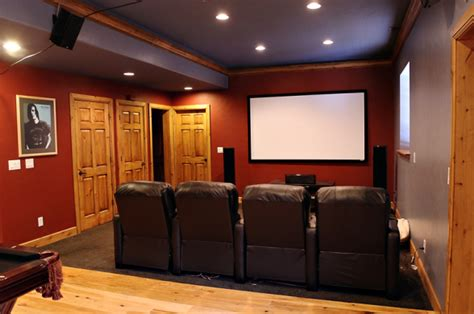 basement media room egress underground news tips for finished basements