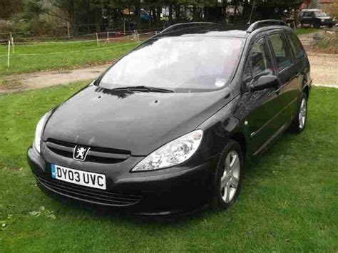 Peugeot 307 Rapier Peugeot 307 Rapier Est 2 0 Hdi 110 Car For Sale