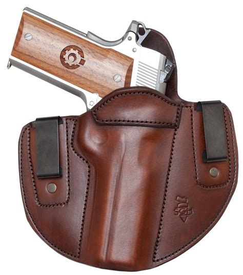 most comfortable iwb holster side guard holsters iwb holster double clip