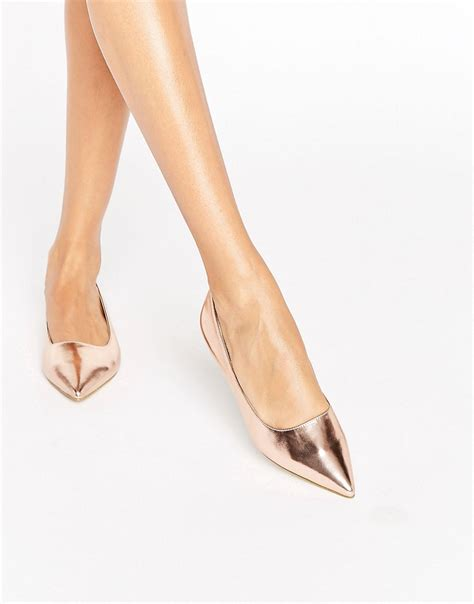 Flat Shoes Agatha raid agatha gold point flat shoes gold discount deals and sales compare get best price
