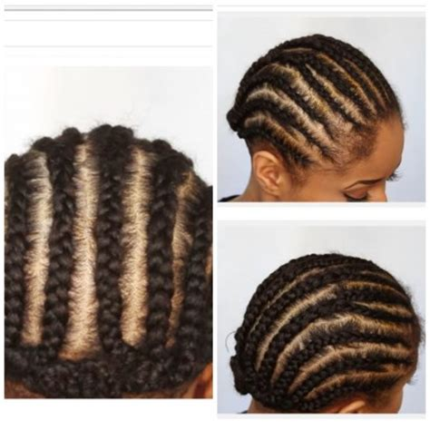 corn rolls under croshet hairstyle corn roll pattern for crochet hair 1000 images about