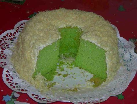 Cake Edisi edisi juni 2006 chiffon pandan