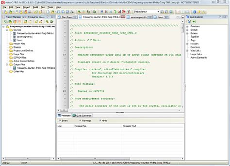 c tutorial and compiler a short pic c compiler tutorial on compiling