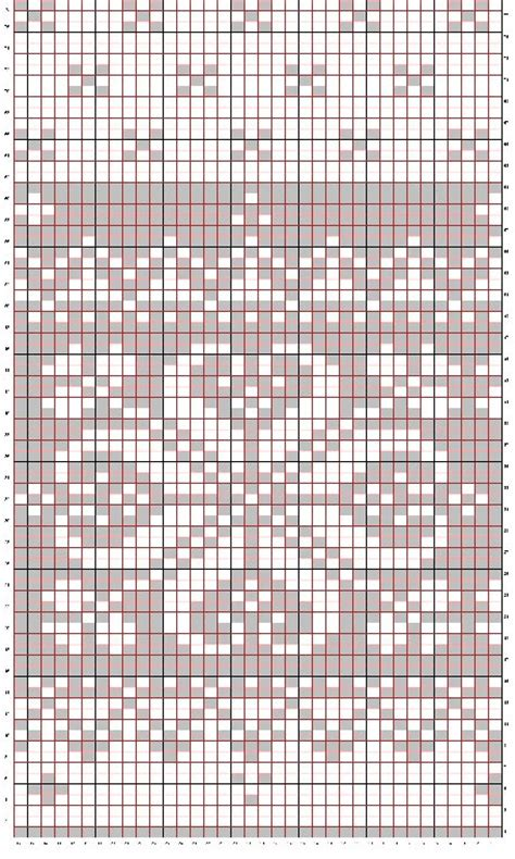 snowflake pattern knitting chart downloadable knitting patterns from high country knitwear