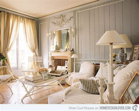 Shabby Living Room by Distressed Yet Pretty White Shabby Chic Living Rooms Decoration For House