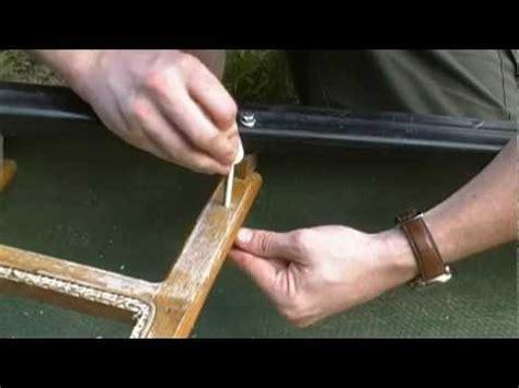 lincoln canoe replacement seats town canoe refurbishing repairing seat strut
