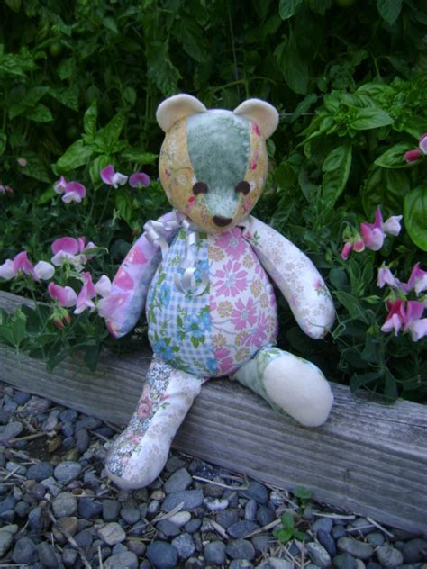 How To Make A Patchwork Teddy - patchwork teddy pattern images