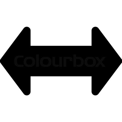 back and forth back and forth arrow stock vector colourbox