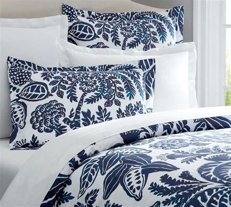 What Is A Sham Bedding by Duvet Cover Sham Pottery Barn