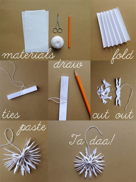 How To Make Paper Snowflakes For Step By Step - gwiazdkowe inspiracje 7 â zr 243 b papierowä gwiazdä å adne