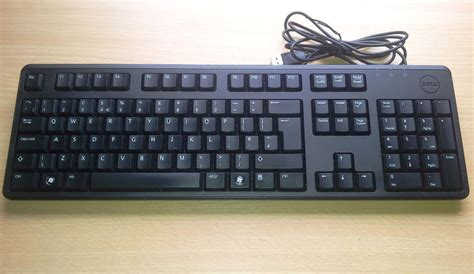 Keyboard Dell dell keyboard dell usb computer keyboard kb212 b uk layout uk ebay
